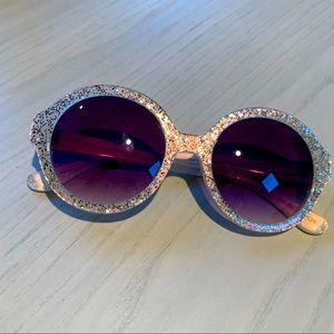 J Crew Sparkle Sunglasses